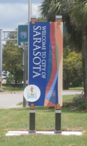 City of Sarasota Welcome Monolith