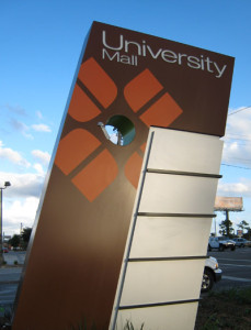 University-Mall-exterior-pylon