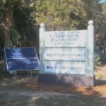 Conservation Foundation Monument with Solar Array
